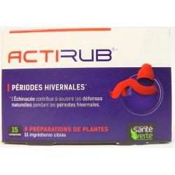 Santé Verte - Actirub (15 comprimés)