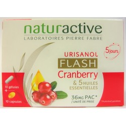 Naturactive - Urisanol Flash Cranberry (cure de 5 jours)
