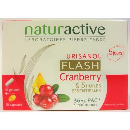Naturactive - Urisanol Flash Cranberry (cure de 5 jours)