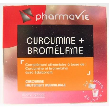 PharmaVie - Curcumine + Bromélaïne