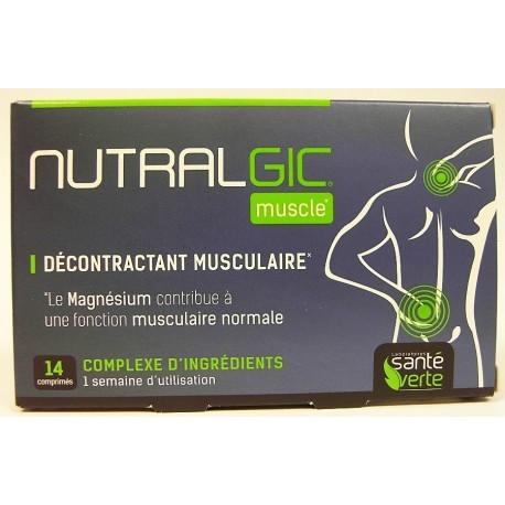 Santé Verte - Nutralgic Muscle Décontractant musculaire