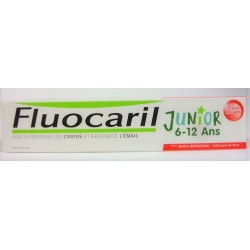 Fluocaril - Prévention des caries Junior 6-12 ans Fruits rouges