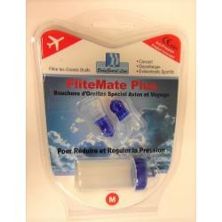 FliteMate Plus - Bouchons d'Oreilles Spécial Avion et Voyage (M)