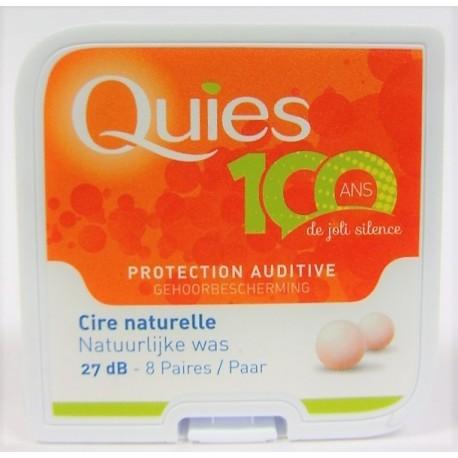 QUIES - Protection auditive Cire naturelle (8 paires)