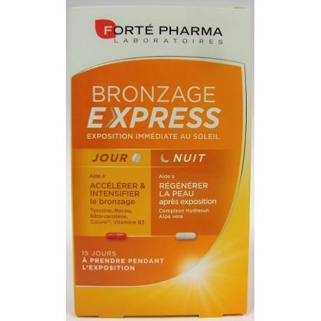 Forté pharma - Bronzage Express Optimisation du bronzage
