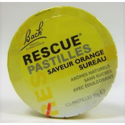 Bach - Rescue : Pastilles saveur Orange Sureau