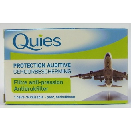 Quiès - Protection auditive Filtre anti-pression