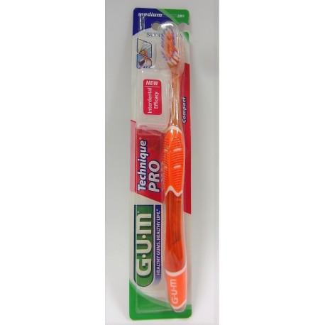 Butler - G-U-M Brosse à dents Technique PRO 528 Medium Compact