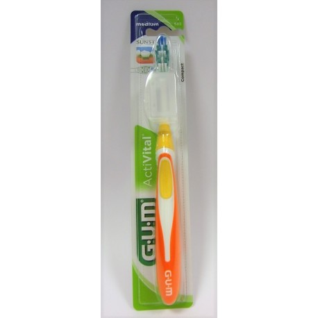 Butler - G-U-M Brosse à dents Activital 583 Medium Compact