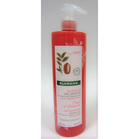 Klorane - Gel Douche Fleur d'Hibiscus au Beurre de Cupuaçu bio (400 ml)