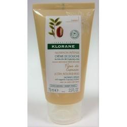 Klorane - Crème de douche Fleur de Cupuaçu  au Beurre de Cupuaçu bio (75 ml)