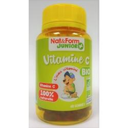 Nat & Form Junior + - Vitamine C Bio L'ours vitaminé