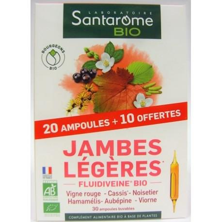 Santarome Bio - Jambes légères