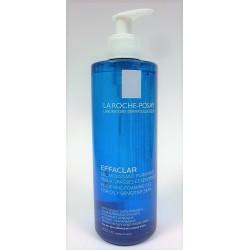 La Roche-Posay - EFFACLAR  Gel moussant purifiant Peaux grasses et sensibles (400 ml)
