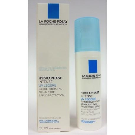 La Roche-Posay - Hydraphase Intense UV Légère Soin réhydratant comblant 24H Protection SPF 20 (50 ml)