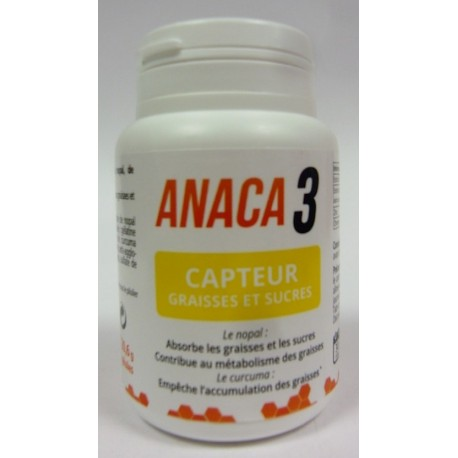 Anaca 3 - Capteur graisses et sucres