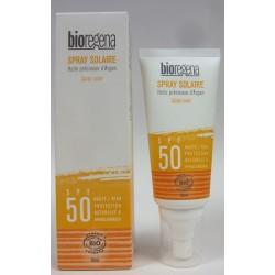 Bioregena - Spray solaire à l'Huile précieuse d'Argan SPF 50