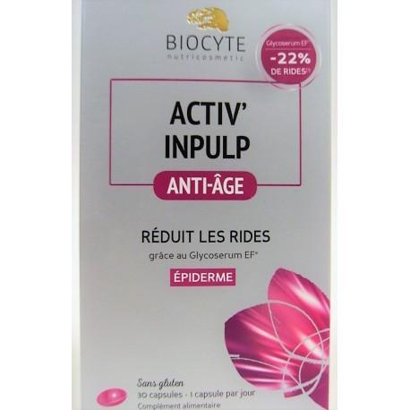 Biocyte - Activ'inpulp . Anti-âge - Réduction des rides