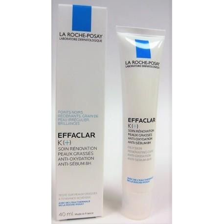La Roche-Posay - Effaclar K (+) Soin rénovation Peaux grasses (40 ml)