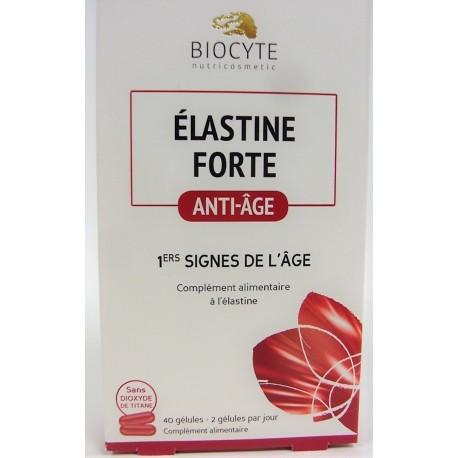 Biocyte - Elastine Forte Anti-âge 1ers signes de l'âge