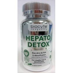 Biocyte - HEPATO DETOX Bien-être du foie et détoxification