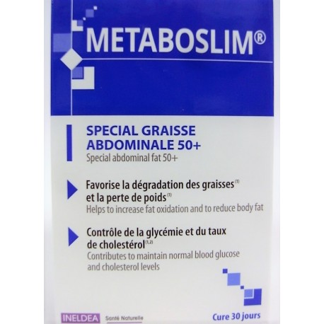 INELDEA - METABOSLIM Spécial graisse abdominale 50+