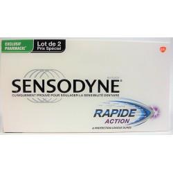 Sensodyne - Rapide Action & Protection Longue Durée (lot de 2)