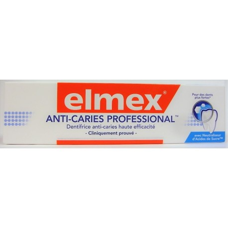 elmex - Dentifrice Anti-caries Professional (75 ml)
