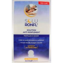 Soluronfl' - Solution anti-ronflement (30 pastilles)