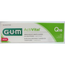 G.U.M - Dentifrice ActiVital Gencives et dents saines (75 ml)