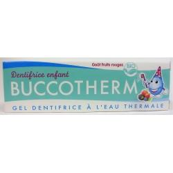 BUCCOTHERM - Gel dentifrice à l'Eau thermale pour les enfants (50 ml)