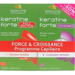 Biocyte - Keratine forte Force & Croissance Programme capillaire