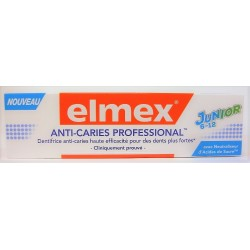 elmex - Dentifrice Anti-caries Professional Junior 6-12 ans (75 ml)