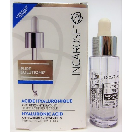Incarose - Pure solutions Acide Hyaluronique Antirides Hydratant