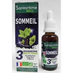 Santarome BIO - Sommeil . Aubépine Figuier Tilleul (30 ml)