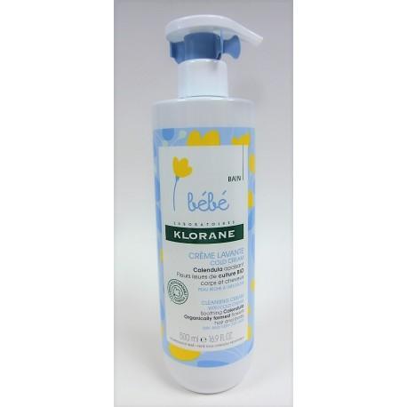 Klorane - Bébé . Crème lavante Cold Cream (500 ml)