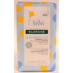 Klorane - Bébé . Savon surgras doux (250 g)