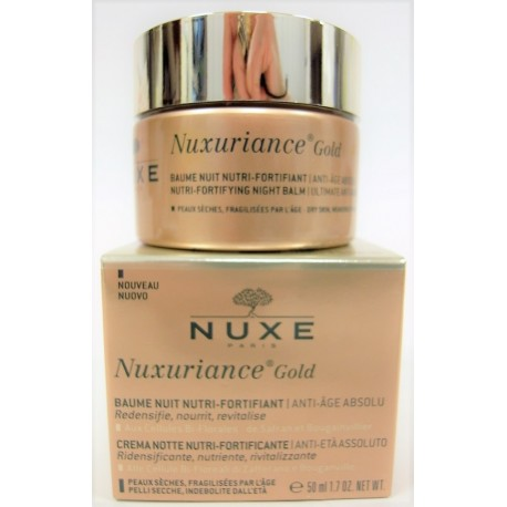 Nuxe - Nuxuriance Gold Baume Nuit Nutri-Fortifiante . Anti-âge absolu (50 ml)