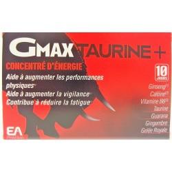 GMAX TAURINE - Concentré d'énergie