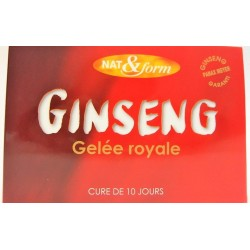 Nat & Form - Ginseng Gelée Royale