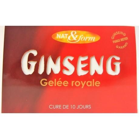 Nat & Form - Ginseng Gelée Royale