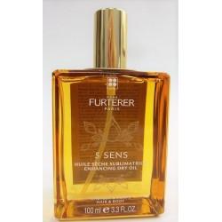 René Furterer - 5 SENS Huile sèche sublimatrice Cheveux et corps (100 ml)