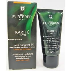 René Furterer - KARITE NUTRI Nuit capillaire Soin de nuit Nutrition intense Cheveux très secs (75 ml)