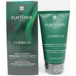 René Furterer - CURBICIA Shampooing normalisant légèreté Cuir chevelu à tendance grasse (150 ml)