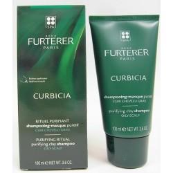 René Furterer - CURBICIA Shampooing-masque pureté Cuir chevelu gras (100 ml)