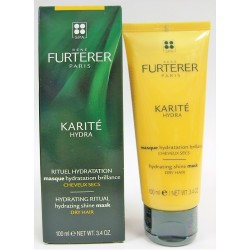 René Furterer - KARITE HYDRA Masque hydratation brillance Cheveux secs (100 ml)