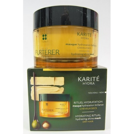 René Furterer - KARITE HYDRA Masque hydratation brillance Cheveux secs (200 ml)
