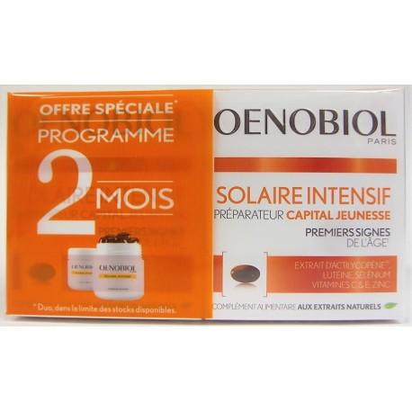 Oenobiol - Solaire Intensif Préparateur Capital jeunesse (lot de 2)