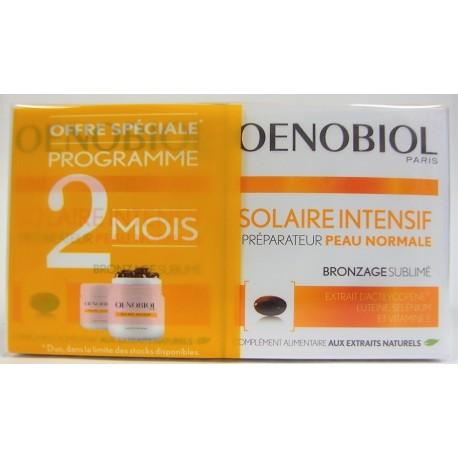 Oenobiol - Solaire Intensif Préparateur Peau normale Bronzage sublimé (lot de 2)