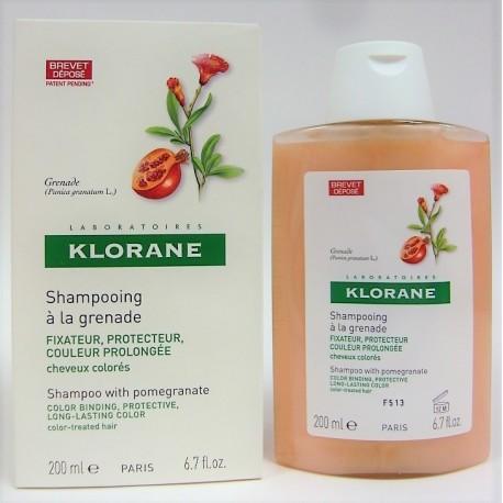 Klorane - Shampooing à la grenade (200 ml)